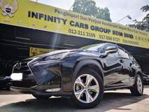 2015 LEXUS NX NX200 LUXURY FROM LEXUS MALAYSIA FULL SERVICE RECORD