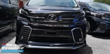 2016 TOYOTA VELLFIRE ZG 2.5 / PILOT SEATS / SUNROOF / FULL BODY KITS TIPTOP CONDITION