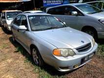 2003 KIA SPECTRA 1.6 LS FULL Spec(AUTO)2003 Only 1 LADY Owner, LOW Mileage, TIPTOP, ACCIDENT-Free, DIRECT-Owner, NEGOTIABLE with LEATHER Seat & AIRBEG