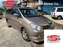 2005 TOYOTA INNOVA 2.0 G FULL Spec(AUTO)2005 Only 1 UNCLE Owner, LOW Mileage, TIPTOP, ACCIDENT-Free, DIRECT-Owner,with DVD,GPS,REVERSE Cam, 2 Airbeg