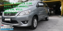 2012 TOYOTA INNOVA 2.0G (AT), ONE OWNER, NEW MODEL, LIKE NEW, FULL BODYKIT, 7 SEATER, DVD, WELL MAINTAIN, ABS, AIR COUND, AIRBAG, PJ LOCATION