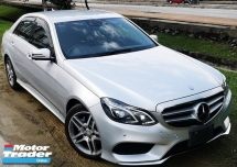 2015 MERCEDES-BENZ E-CLASS 2015 MERCEDES BENZ E250 2.0 AMG NEW FACELIFT UNREG JAPAN SPEC CAR SELLING PRICE ONLY  RM 213000.00