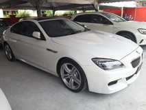 2013 BMW 640i 3.0 Twin Power Tuobo Coupe M-SPORT Jpn Unreg