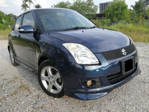 2009 SUZUKI SWIFT 1.5 AT,KEYLESS ,NEW PAINT,NEW TIRE,SWIFT SPORT BODYKIT,SPORT RIM,AIR BAG,ABS