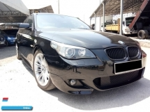 2008 BMW 5 SERIES  (CBU) 2.5 (A) Ori M-sport Facelift , Good Condition