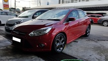 2013 FORD FOCUS 2.0L (A) SPORT PLUS, REG MAY  2013, ONE CAREFUL OWNER, SUNROOF, LOW MILEAGE DONE 68K KM, 17