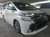 2017 TOYOTA VELLFIRE 3.5 ZAG FULL (NEARLY NEW CAR) SPEC SUNROOF JBL FULL LEATHER SUROUND VIEW CAMERA UNREG 2017