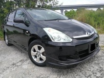 2007 TOYOTA WISH 1.8 G AT,1OWNER,REVERSE CAMERA,TOM'S BODYKIT,SPORT RIM,NEW TIRE,NEW PAINT,FACELIFT,ACCIDENT FREE