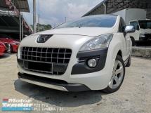 2012 PEUGEOT 3008 1.6 THP Auto Pearl White Acc Free