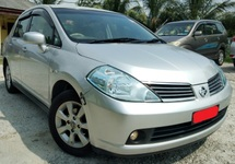2008 NISSAN LATIO 1.8 TI  KEYLESS LEATHER SEAT