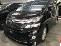 2014 TOYOTA VELLFIRE 2.4Z  , 2 Power Door , 7 Seater , Year End Sale OFFER