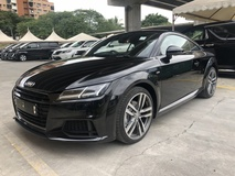 2015 AUDI TT 2.0 TFSi S Line Quattro Direct Shift S Tronic New Facelift Daytime Xenon LED Bang & Olufsen Surround System Virtual Cockpit Dashboard Audi MMi Multi Function Paddle Shift Steering Bluetooth Connectivity Unreg