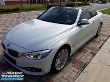 2014 BMW 4 SERIES 428i 2.0 (A) MSPORT CABRIOLET COUPE CBU