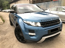 2014 LAND ROVER EVOQUE 2.0 9 SPEED