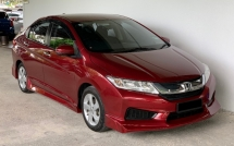 2017 HONDA CITY Honda City 1.5 I-VTEC (A) Facelift High Spec Model