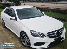 2014 MERCEDES-BENZ E-CLASS 2014 MERCEDES BENZ E250 2.0 AMG NEW FACELIFT UNREG JAPAN SPEC CAR SELLING PRICE ONLY RM 192000.00