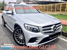 2016 MERCEDES-BENZ GLC 250 4 MATIC 2.0 (A) FULL SVC RECORD UNDER WARRANTY BY HSS UNTIL 2020