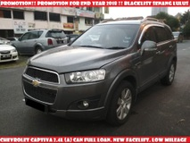 2012 CHEVROLET CAPTIVA 2.4 L(A) CAN FULL LOAN LOW MILEAGE