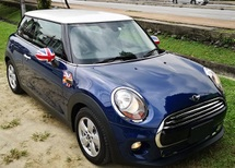 2014 MINI 3 DOOR 2014 MINI COOPER1.5 TWIN TURBO FACELIFT JAPAN SPEC CAR SELLING PRICE ONLY ( RM 123,000.00 NEGO )