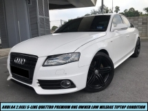 2011 AUDI A4 2.0TFSI QUATTRO S-LINE BLACK EDITION LIMITED SPEC WITH PADDLESHIFT LOW MILEAGE TIPTOP CONDITION
