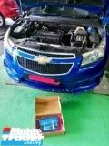 CHEVROLET 1.8 changing gear not smooth. Change transmission TCM. Solve the problem.  Engine & Transmission > Transmission