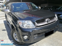 2011 TOYOTA HILUX 2.5 AT 4WD DOUBLE CAB TURBO