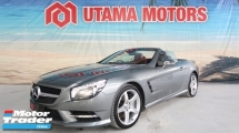 2014 MERCEDES-BENZ SL SL350 AMG SPORT CONVERTIBLE PADDLE SHIFT REVERSE CAMERA HARMON KARDON RAYA PROMOTION