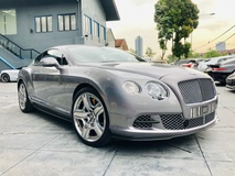 2012 BENTLEY CONTINENTAL GT MULLINER 6.0 W12 LIKE NEW
