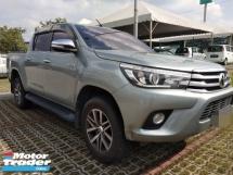 2016 TOYOTA HILUX 2.8cc G VNT 4X4WD Spec Diesel  RM108,888~OTR Interest 3.5%