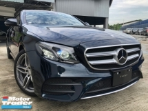 2018 MERCEDES-BENZ E-CLASS E200 AMG SHOWROOM UNIT