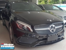 2016 MERCEDES-BENZ A-CLASS A180 AMG / FACELIFT / HK SOUND / PUSH START / PANORAMIC ROOF / FULL LEATHER / READY STOCK