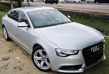 2013 AUDI A5 2013 AUDI A5 2.0 TFSI QUATTRO FACELIFT JAPAN SPEC UNREG CAR BODY - SILVER COLOR ( 2822 )