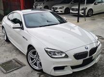 2013 BMW 6 SERIES 2013 BMW 640i M-SPORT COUPE 3.0 TWIN POWER TURBO JAPAN SPEC UNREG