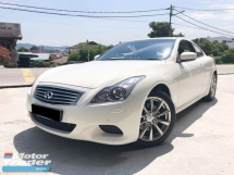 2012 INFINITI G COUPE G37 2 Door Local Spec Sport 1 Owner
