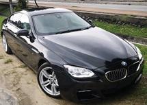 2015 BMW 6 SERIES 2015 BMW 640i M-SPORT GRAN COUPE 3.0 TWIN POWER TURBO JAPAN SPEC UNREG