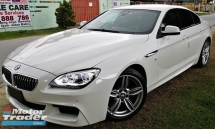 2014 BMW 6 SERIES 2014 BMW 640i M-SPORT GRAN COUPE 3.0 TWIN POWER TURBO JAPAN SPEC UNREG