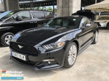 2016 FORD MUSTANG Unreg Ford Mustang 2.3 Eco Boost Engine Paddle Shift  Turbo Keyless Push Start