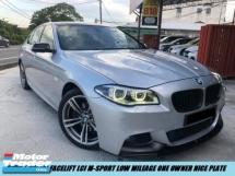 2016 BMW 5 SERIES 520I Facelift M-SPORT Local Spec Low Mileage