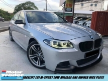 2015 BMW 5 SERIES 520I Facelift M-SPORT Local Spec Low Mileage