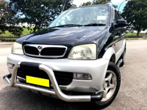 2003 PERODUA KEMBARA 1.3 EZS AT FACE LIFT 4WD LEATHER
