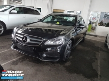 2014 MERCEDES-BENZ E-CLASS E200 AMG 2.0 NEWFACELIFT.TRUE YEAR MADE CAN PROVE.PADDLE SHIFT.ORI AMG BODYKIT N SPORT RIM.REVERSE CAMERA.LED DAYLIGHT.ELECTRIC SEAT.