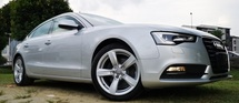 2013 AUDI A5 2013 AUDI A5 2.0 TFSI QUATTRO FACELIFT JAPAN SPEC UNREG  CAR BODY - SILVER COLOR ( 3876 )