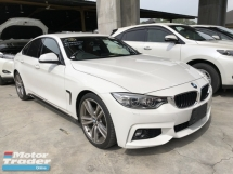 2016 BMW 4 SERIES Unreg BMW 420i Grand Coupe Turbo Camera Keyless Push Start 8Speed
