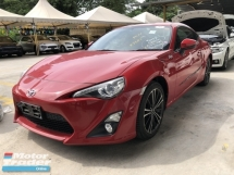 2013 TOYOTA 86 Unreg Toyota GT86 2.0 Boxter Engine Paddle Shift 6Speed