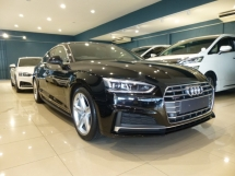 2017 AUDI A5 SportBack S.Line (New Model). Price NEGOTIABLE. Provide WARRANTY. Free Servicing. A4 A6 A7 S4 RS5