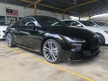 2015 AUDI TT 2.0 TFSi S Line Quattro S-Tronic Direct Shift New Facelift Daytime Xenon LED Bang & Olufsen Surround System Virtual Cockpit Dashboard Audi MMi Multi Function Paddle Shift Steering Bluetooth Connectivity Unreg
