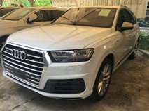 2015 AUDI Q7  QUATTRO S LINE SUV HUD P-ROOF BOSE SOUND POWER BOAT REAER CAMERA