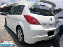 2011 NISSAN LATIO 1.6 IMPUL (A) Hatchback Keyless