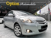 2010 TOYOTA VIOS 1.5E (AT) 1 OWNER ONLY NO ACCIDENT RECORD (ZERO DOWNPAYMENT)