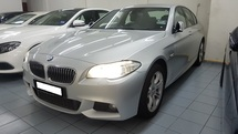 2012 BMW 5 SERIES 528I M-SPORTS (A) REG 2012, LOCAL MODEL (CKD), ONE DIRECTOR OWNER, SELDOM USE, LOW MILEAGE DONE 105K KM, 18